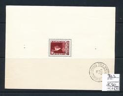 BELGIUM  COB BL3 FINE CHARNIERE - Blokken 1924-1960