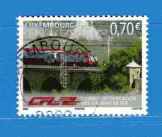 Lussemburgo ° - 2006. Elettrificazione Delle Ferrovie.  Unif. 1664.   Usati - Usados