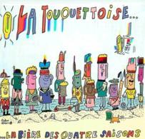 62 - Le Touquet - Carte Publicitaire - La Touquettoise - La Bière Des Quatre Saisons - Voir Scans Recto-Verso - Le Touquet
