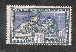 Perforé/perfin/lochung France No 214 W Worms Et Cie (12) - Perforés