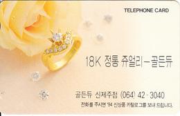 SOUTH KOREA - 18K Gold Ring(W2000), 09/94, Used - Korea, South