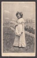 92573/ ENFANTS, Illustration, Fillette, 1908 - Dessins D'enfants