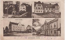 Alte Ansichtskarte Jastrzębie Zdrój Nach Siemianowice, 1927 - Poland
