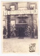 Foto 1936 - Huis Notaris Raymond Coucke Zomergem (x Anna Bauwens) Foto Nav. Huwelijk Dcht Renée X Notaris Joseph Buysse - Mariage