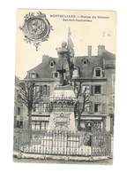 Montbéliard - Statue Du Colonel Denfert Rochereau - 92 - Montbéliard