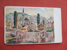 Sarajevo Signed Artist  Ref  3462 - Bosnia And Herzegovina