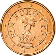 Autriche, Euro Cent, 2005, SPL, Copper Plated Steel, KM:3082 - Autriche