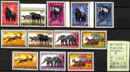 D - [825221]TB//**/Mnh-Ruanda-Urundi 1959 - N° 205/16,  Animaux, SNC - Other