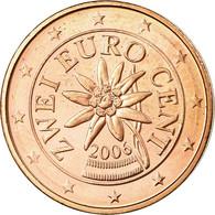Autriche, 2 Euro Cent, 2006, SPL, Copper Plated Steel, KM:3083 - Autriche