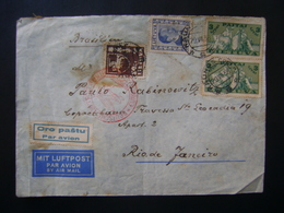 LITHUANIA / LIETUVA - LETTER SUBMITTED TO BRAZIL IN 1938 IN THE STATE - Litauen