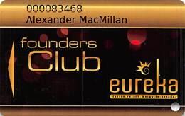 Eureka Casino Mesquite NV - Founders Club Slot Card - Casino Cards