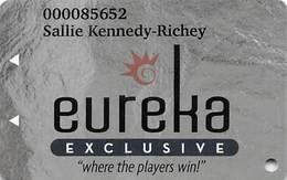 Eureka Casino Mesquite NV - Slot Card - Casino Cards