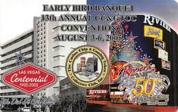 CCGTCC Early Bird Banquet Card June 2005 - Casino Cards