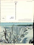 621880,Niagara Falls Ontario Horseshoe Falls Winter Creates Freezing Spray From The F - Kanada