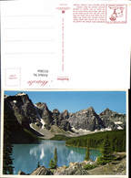 621864,Moraine Lake Ten Peaks Wenkchemna Glacier Banff National Park Alberta Canada - Kanada