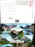 621862,Mehrbild Ak The Canadian Rockies Banff National Park Lake Louise Cascade Mount - Kanada