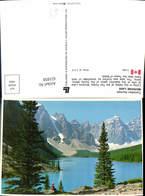 621858,Moraine Lake Valley Of The Ten Peaks Rocky Mountains Canada - Kanada