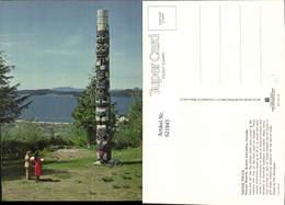 621843,Totem Poles Prince Rupert British Columbia Canada - Kanada