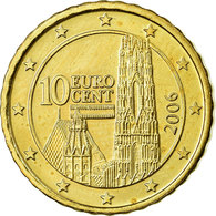 Autriche, 10 Euro Cent, 2006, SPL, Laiton, KM:3085 - Autriche