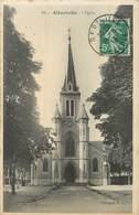 "/ CPA FRANCE 73 ""Albertville, L'église"" - Albertville"