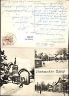 621988,Mehrbild Ak Bad Flinsberg Swieradow Zdroj Dom Zdrojowy Fragment Uzdrowiska Dom - Polen