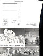 621964,Mehrbild Ak Karkonosze Schronisko PTTK Wintersport Szklarska Poreba Schreiberh - Polen
