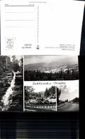 621955,Mehrbild Ak Szklarska Poreba Bus Wasserfall Poland - Polen