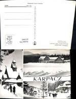 621943,Mehrbild Ak Karpacz Bierutowice Swiatynia Wang Hotel Orlinek Fragmenty Miasta - Polen