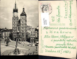 621932,Krakow Krakau Kosciol Mariacki Kirche Bus Poland - Polen