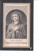 Rosalia Monteyne (1834-1908) - Devotieprenten