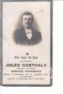 Jules Goethals (1882-1923) - Devotieprenten