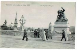 Liege Exposition Universelle De Liege 1905 Sur Le Pont Fragnée - Luik