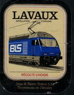 Etiquette De Vin // Lavaux, Train BLS - Treni