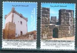 MOROCCO EMISSION CONJOINTE MAROC - PORTUGAL MONUMENTS 2007 - Morocco (1956-...)