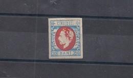 Romania Carol 1872 50 Bani MNH - Scarce - 1858-1880 Moldavia & Principality