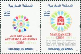 MOROCCO CONFERENCE DES NATIONS UNIS CHANGEMENT CLIMATIQUE COP 22 MARRAKECH 2016 - Morocco (1956-...)