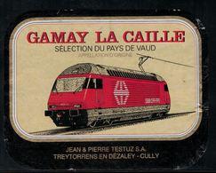 Etiquette De Vin // Gamay Du Pays De Vaud, Train Suisse - Treni