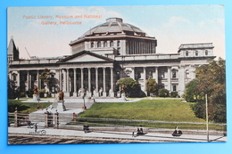 Public Library, Museum And National Gallery, Melbourne, Victoria, Australia - Melbourne