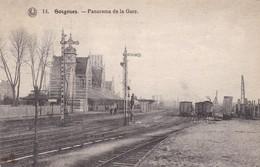 619 Soignies Panorama  De La Gare - Soignies