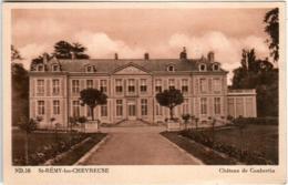 4ND 63 CPA - SAINT REMY LES CHEVREUSE - CHATEAU DE COUBERTIN - St.-Rémy-lès-Chevreuse