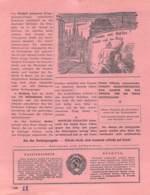 "WWII WW2 Flugblatt Leaflet Soviet Propaganda Against Germany ""Was Geht In Deutschland Vor?"" Mai 1942 Nr. 162  CODE 1498 - 1939-45"