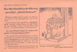 WWII WW2 Flugblatt Leaflet Tract Soviet Propaganda Against Germany  CODE 1532 - 1939-45
