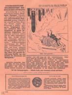"WWII WW2 Flugblatt Leaflet Soviet Propaganda Against Germany ""Auslands-Nachrichten"" Juni 1942 Nr. 199  CODE 1568 - 1939-45"