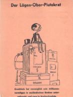 WWII WW2 Flugblatt Leaflet Tract Soviet Propaganda Against Germany  CODE 1569 - 1939-45