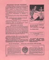 "WWII WW2 Flugblatt Leaflet Tract Soviet Propaganda Against Germany ""Frontnachrichten"" Juni 1942 Nr. 207  CODE 1578 - 1939-45"