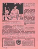 "WWII WW2 Flugblatt Leaflet Tract Soviet Propaganda Against Germany ""Auslands-Nachrichten"" Juni 1942 Nr. 202  CODE 1587 - 1939-45"