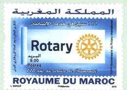 MOROCCO ROTARY INTERNATIONAL 110TH JAHRESTAG 2015 - Morocco (1956-...)