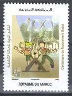 MOROCCO CENTENAIRE DU MOUVEMENT SCOUT 2007 - Morocco (1956-...)
