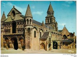 Photo Cpsm Cpm 86 POITIERS. Notre-Dame-la-Grande. De Mirebeau 1989 - Poitiers