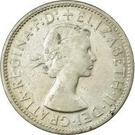 Monnaie, Australie, Elizabeth II, Florin, 1958, Melbourne, TB+, Argent, KM:60 - Victoria